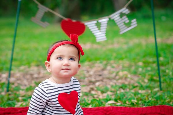 Miss B First Valentines