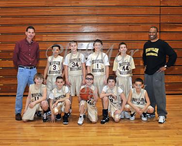 5th Grade Maroon Mifflin Basketball