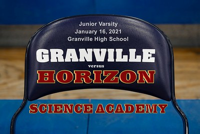 2021 Junior Varsity - Horizon Science at Granville (01-16-21)