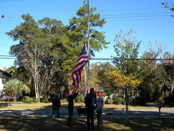 2012 Veterans Day Celebration White Springs
