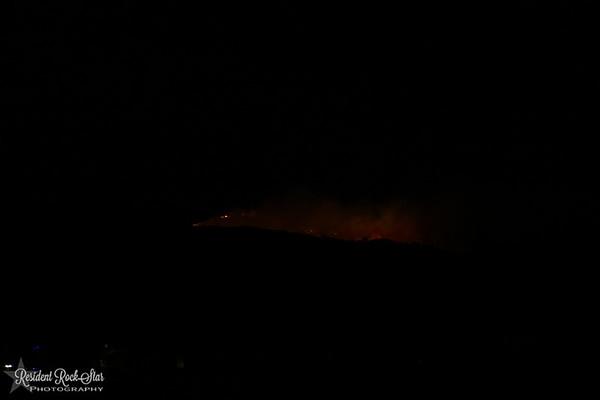 Bobcat Ridge Fire Dec 15 2016
