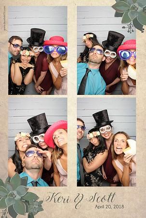 Scott & Keri's Wedding  4-20-18