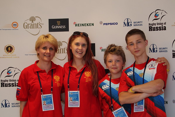 Rugby 7's World Cup in Moscow - Volunteers and Sponsors -June 2013