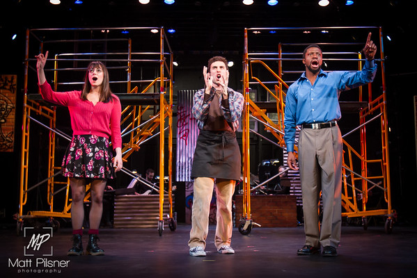 Tick, Tick, Boom! - Production Photos