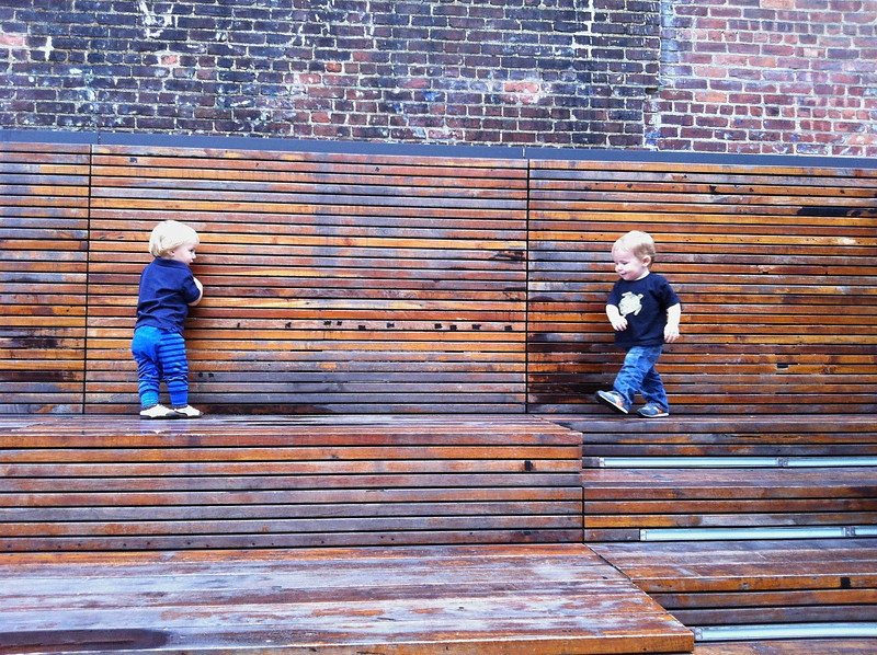 cousins on the high line