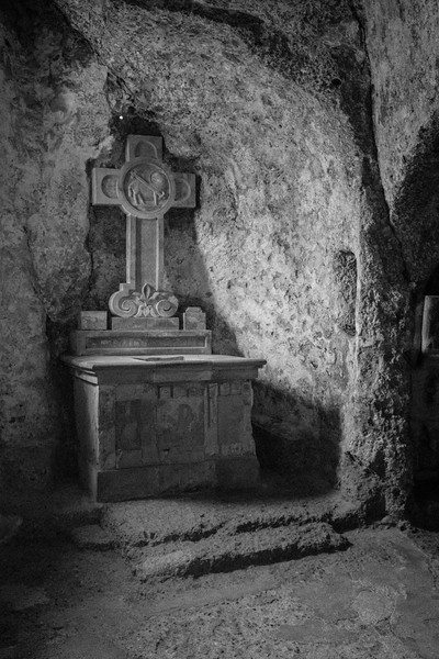 in the catacombs at st peters