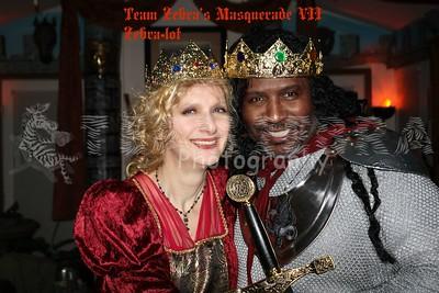 20121103 Team Zebra's Masquerade VII...Zebra-lot