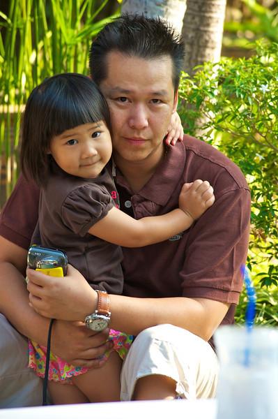 Ninee loves her dad
