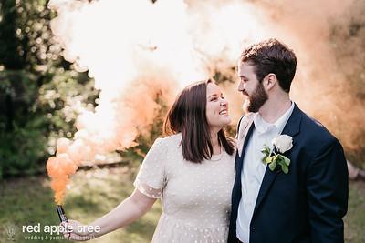 Sallie + David Wedding