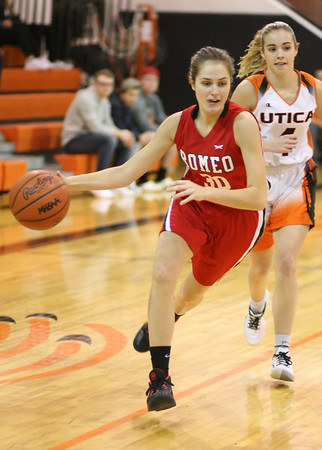 1/2020 RHS Girls Varsity Basketball vs Utica HS