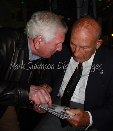 Stirling Moss at Mercedes Benz 2011