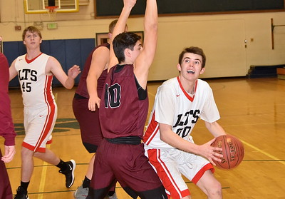 LTS Boys Varsity Basketball vs Proctor photos by Gary  Baker