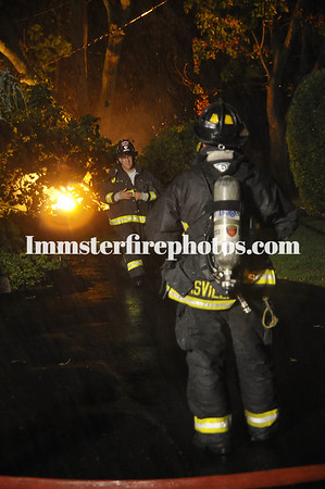 Hicksville and Levittown FD's storm 10-1-10