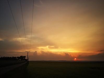 Západ slunce 12. 6. 2015