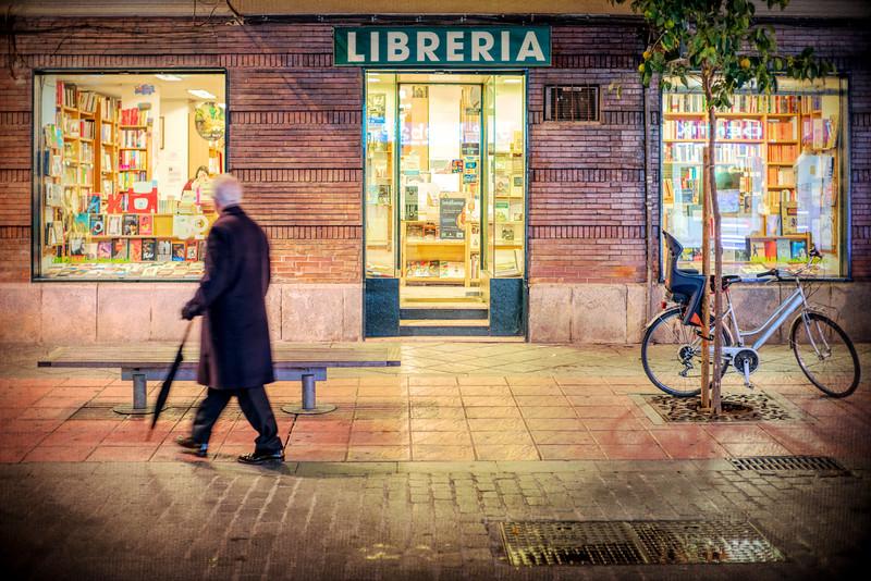 Bookstore, Seville, Spain