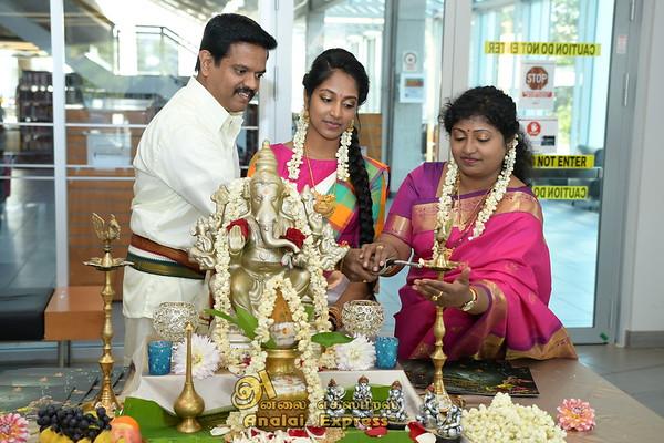 Sathangai Narthanlayam presents Bharathanatya Arangetram of Jenanii Muhelan
