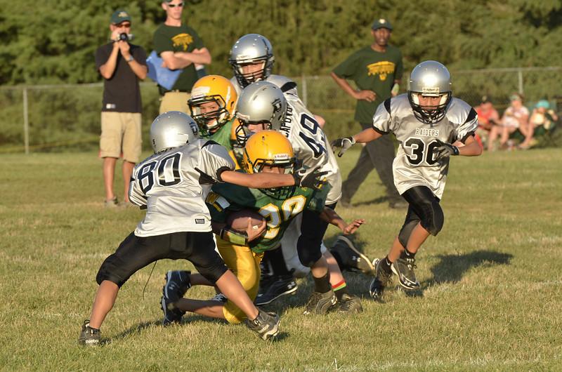 Wildcats vs Raiders Scrimmage 163.JPG