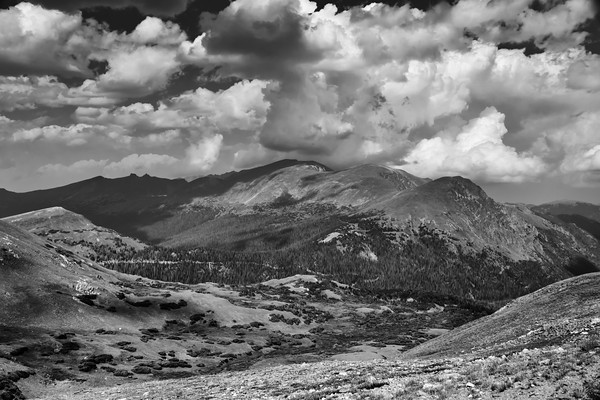 National Parks in B&W