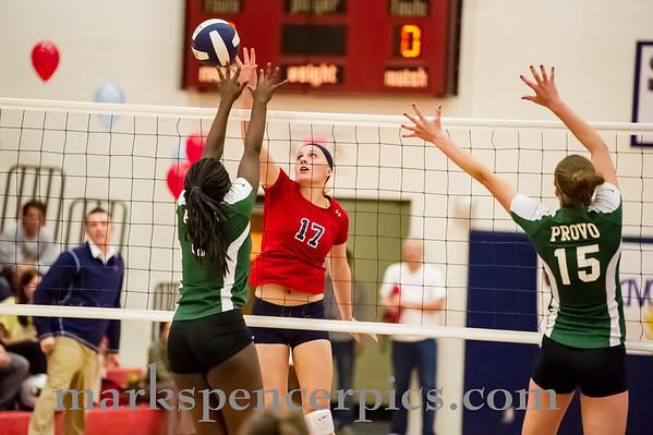 Volleyball SHS vs Provo Oct 2013