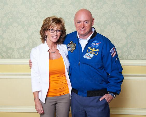 2015 - Astronaut Mark Kelly