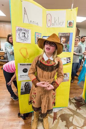 3rd Grade Wax Museum, Feb. 25, 2016