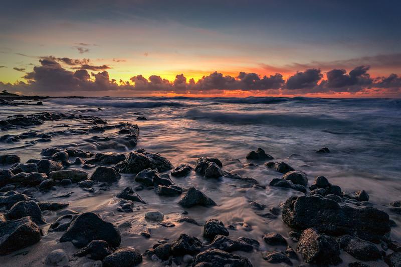 Rocky Shore of Ka Iwi
