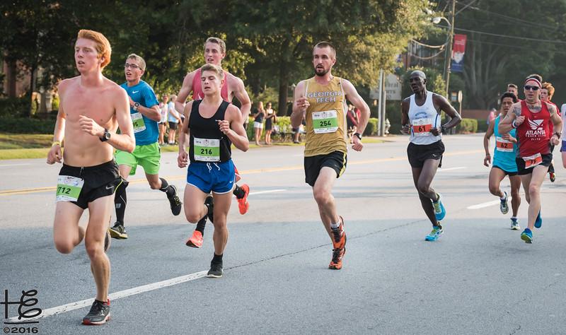 Lead runners