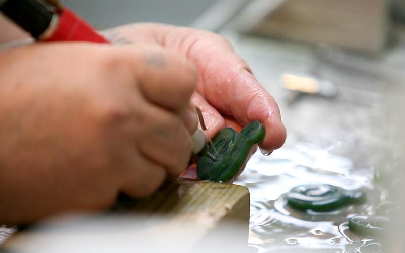 Jadebearbeitung in Hoikitika