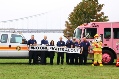 Fort Lee Fire Prevention Bureau & Pink Heals of Bergen County