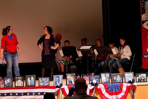 Veterans Day Assembly 2013