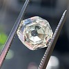 2.12ct Octagonal Flat Cut Diamond, GIA M VS2 11