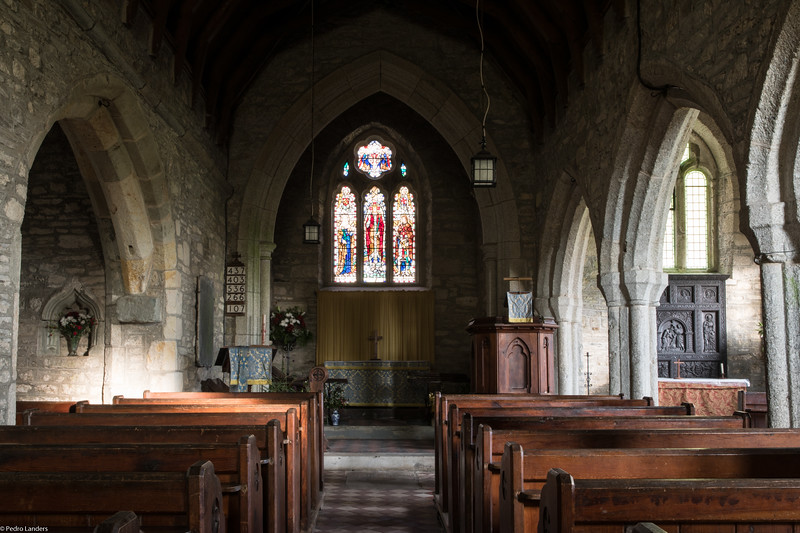 Sampford Spiney Church - Interior