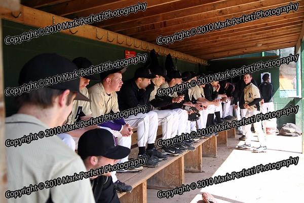 AHS Boys Varsity Baseball vs Gloversville 4-10-2010