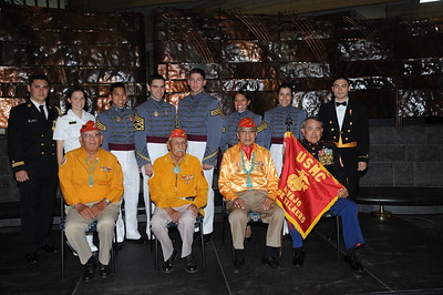 4-26-2010 Navajo Code Talkers @ Smithsonian