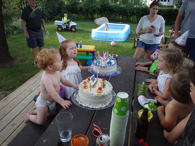 Summer FUN and BDAY Celebrations!  Cate and Joe/Loretta/Ray/Mamma