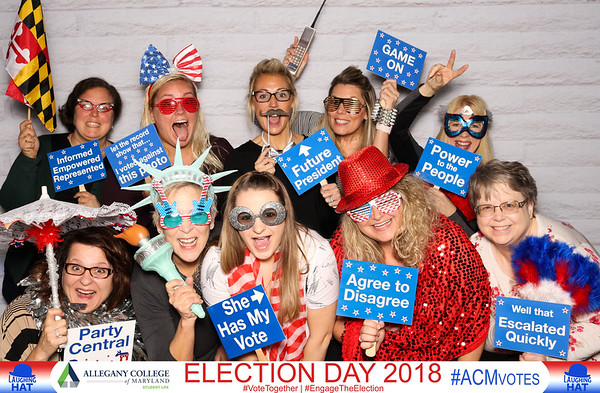 Allegany College of MD - Election Day 2018