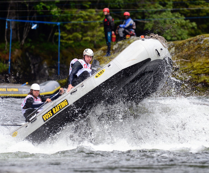 Njål Arnar Johansen, Rafting slalom H2H qualifications