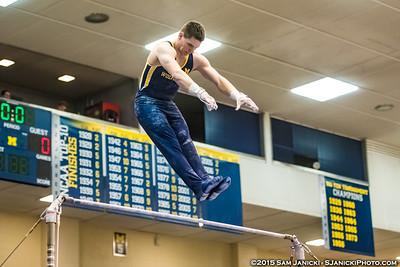 6th Rotation - Michigan Men's Gymnastics Intrasquad - 12-13-15
