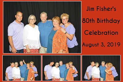 Jim Fisher's 80th Birthday Party