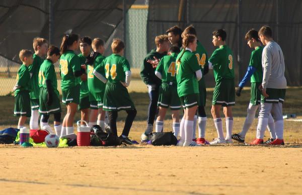 Jr high Soccer Green (OLPS)