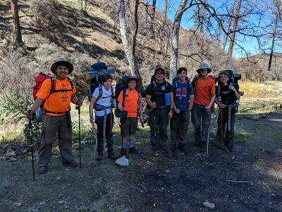 190317 East Fork Backpacking