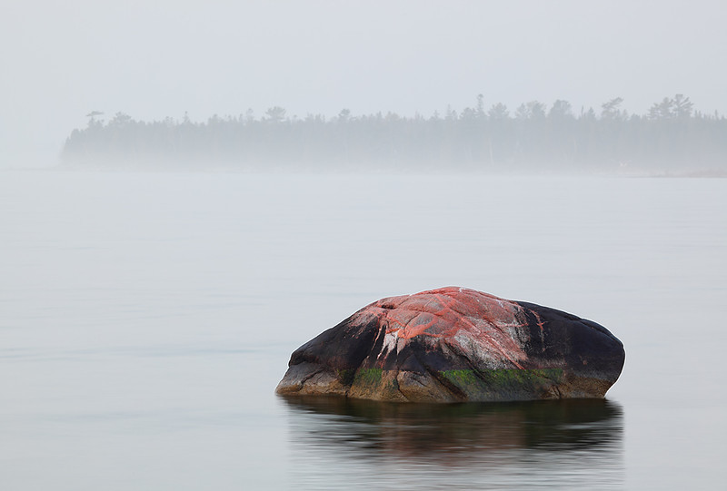 Solitude Rock - Spike Horn Bay (Door County - Wisconsin)