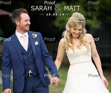 Sarah & Matt Album Design