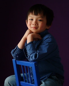 Children's Studio Portraits On Location