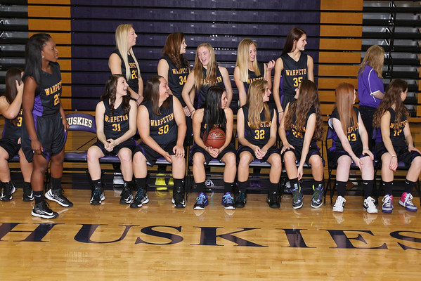 Girls BB Team and Individual, 2013-14