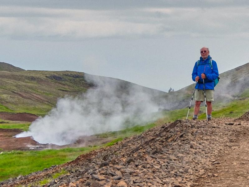 Paul - Mount Hengill area -  thermal springs