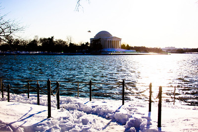 Snow in DC 2009