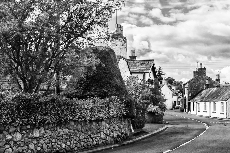 Winding through the Village-Scotland.JPG
