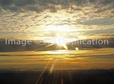 2008 TRIP:  ALASKA SUNSETS, SUNRISES; August