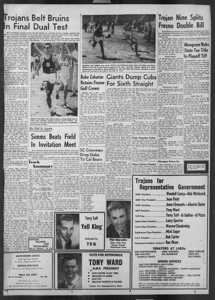 Daily Trojan, Vol. 43, No. 127, May 05, 1952